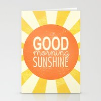 Morning Sunshine Stationery Cards