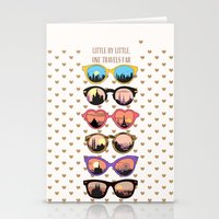 Little By Little, One Tr… Stationery Cards
