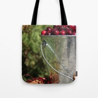 Berries And Spice Tote Bag