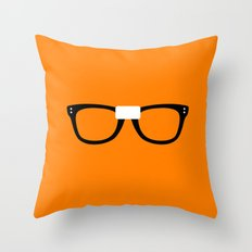 Alex Vause Glasses OITNB Throw Pillow