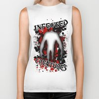 Infected Creatures Biker Tank