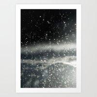 Touching Space Art Print