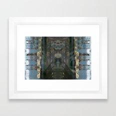 Milkyway Barge 1 Framed Art Print