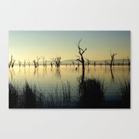 The Keepers Of The Lake Canvas Print