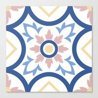 Floor Tile 2 Canvas Print