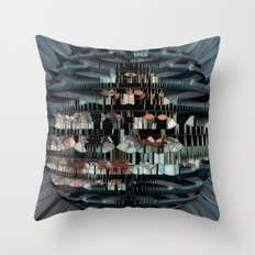 Glass Star Throw Pillow