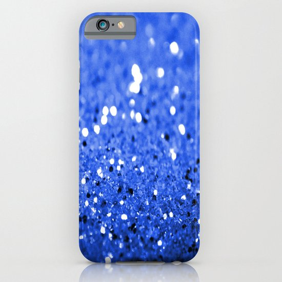 Glitter Blue iPhone & iPod Case