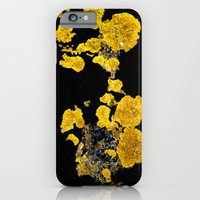 iPhone & iPod Case featuring Yellow Lichen by Ni.Ca.