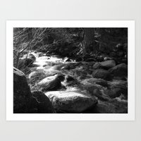 Places In Black & White:… Art Print