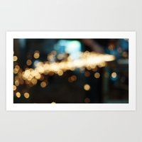 Sparks Will Fly Art Print