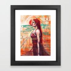 A.I Framed Art Print
