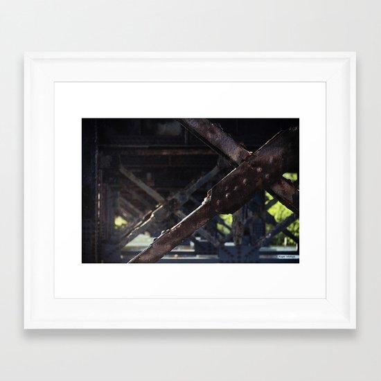 Test of Time Framed Art Print