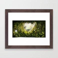 Totoro's Dream Framed Art Print