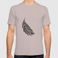 Feathers Mens Fitted Tee Cinder SMALL