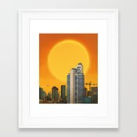 Maslak Framed Art Print