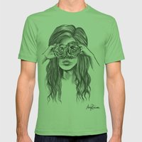 Beauty is within the eye of the beholder - By Ashley Rose Standish Mens Fitted Tee Grass SMALL