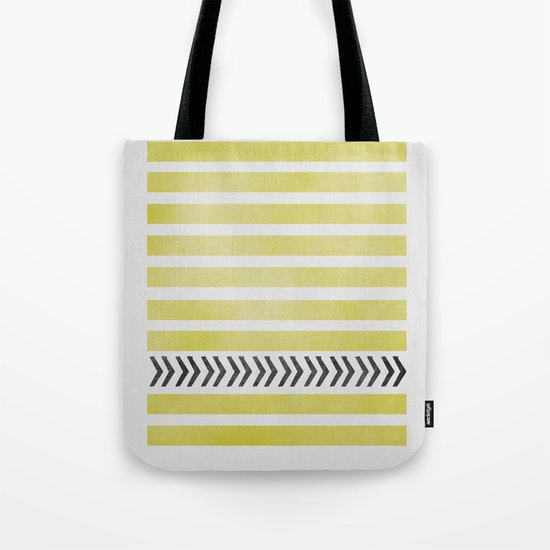STRIPES AND ARROWS Tote Bag