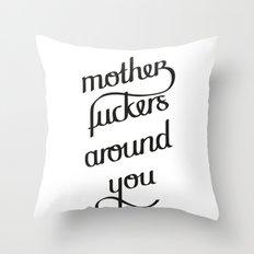 MFAY Throw Pillow