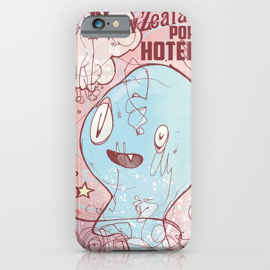 NewZealand Pop Hotel iPhone & iPod Case