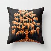 Dream Tree Throw Pillow