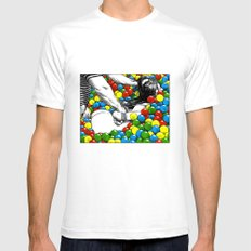 asc 470 - Games allowed in the store after closing time Mens Fitted Tee White SMALL