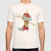 Dusteak Mens Fitted Tee Natural SMALL