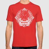 Mononoke Hime Wolf Pride… Mens Fitted Tee Red SMALL