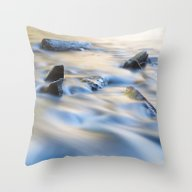 Throw Pillow featuring Flow Motion by Mark Alder