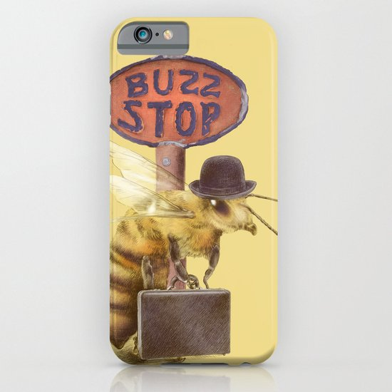 Worker Bee (colour option) iPhone & iPod Case