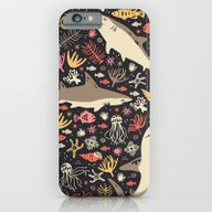 iPhone & iPod Case featuring Oceanica by Anna Deegan