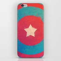 Captain's Sheild! iPhone & iPod Skin