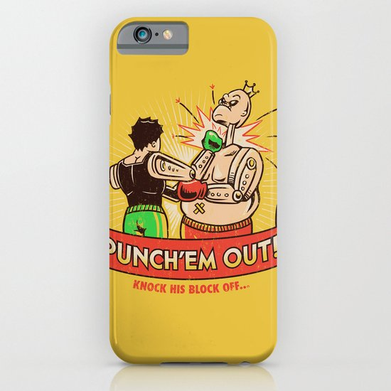Punch'em Out iPhone & iPod Case