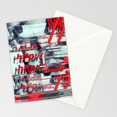 Glitch Decon 1 Stationery Cards