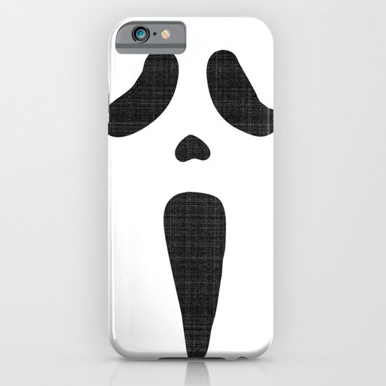 Classic Scary Face iPhone & iPod Case