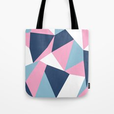 Abstraction Pink Tote Bag