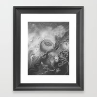 All You Restless Things Framed Art Print