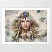 Epic Princess Zelda From… Art Print