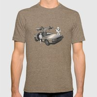 Lost, Searching For The … Mens Fitted Tee Tri-Coffee SMALL