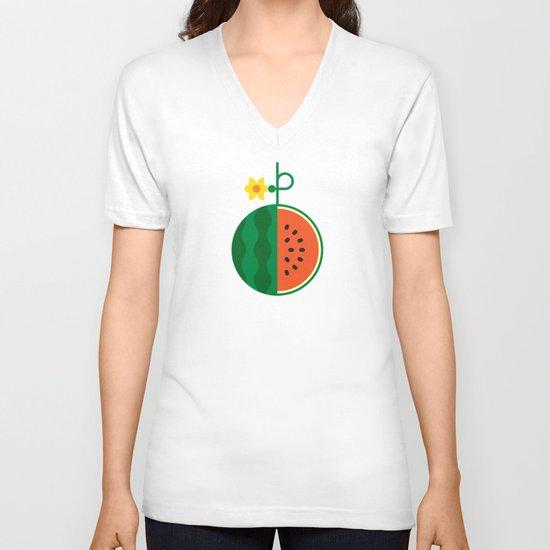 Fruit: Watermelon V-neck T-shirt