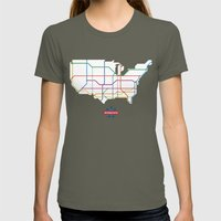 Interstate Womens Fitted Tee Lieutenant SMALL