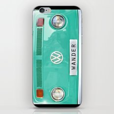 Wander wolkswagen. Summer dreams. Green iPhone & iPod Skin