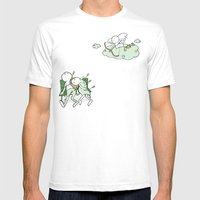 Love Hurts Mens Fitted Tee White SMALL