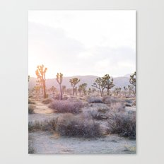 Joshua Tree Diptych [Left Side] Canvas Print