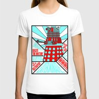 doctor who T-shirts featuring Doctor Who by Alli Vanes