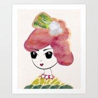 Countess Art Print