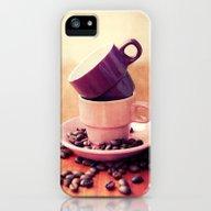 LE CAFE iPhone (5, 5s) Slim Case
