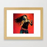 Feel Like Dancing Framed Art Print
