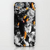 Orange Fish iPhone 6 Slim Case