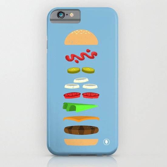 Chz Brgr iPhone & iPod Case