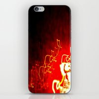 Fire Light iPhone & iPod Skin